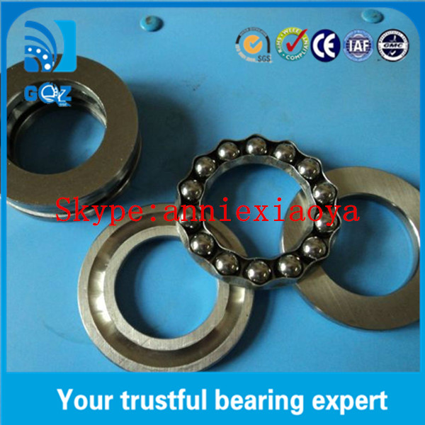 C2 C3 Jet Engine Thrust Ball Bearings 51104 Wear Resistant ISO9001 Certification