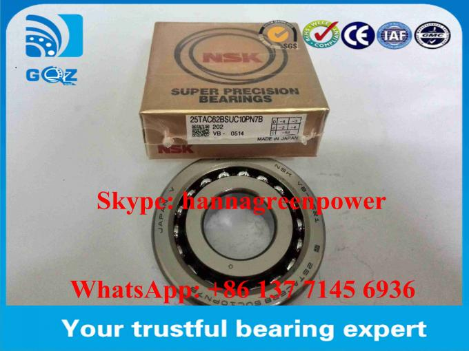 Open Type Ball Screw Support Ball Bearings 30TAC62BSUC10PN7B  30TAC62BDUC10PN7B 30x62x15mm