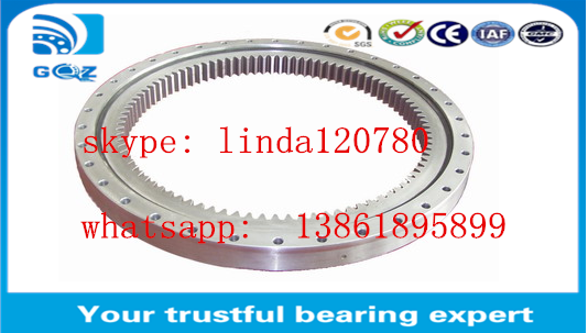 Excavator slew ring slewing bearing EX120-3 , Thin Section Ball Bearings