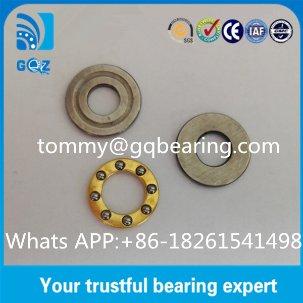F5-12M Miniature Thrust Bearing , P0 P6 P5 P4 P2 Precision Rating