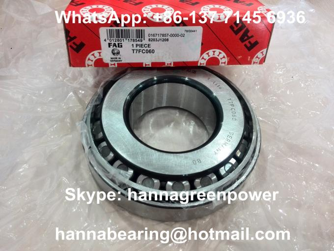 4800RPM T7FC070-XL X-Life Tapered Roller Bearing T7FC 070/QCL7C 70x140x39mm