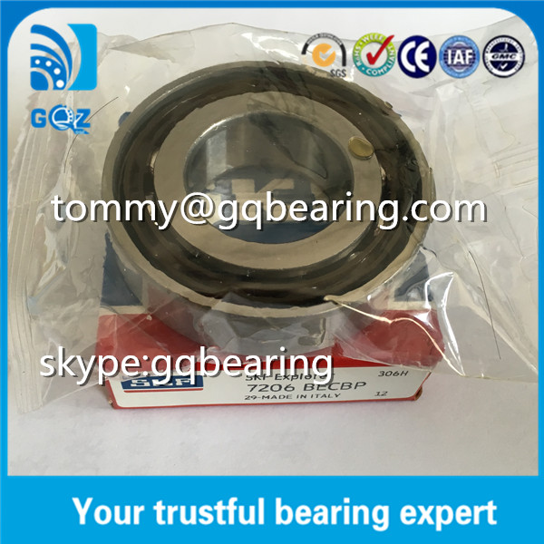 OD62mm SKF P0 Precision Angular Contact Bearings 7206BECBP
