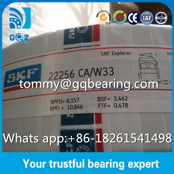 Brass Cage Oil Groove Spherical Roller Bearing SKF 22256CA/W33
