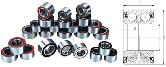 Automotive DAC bearing KOYO wheel bearings