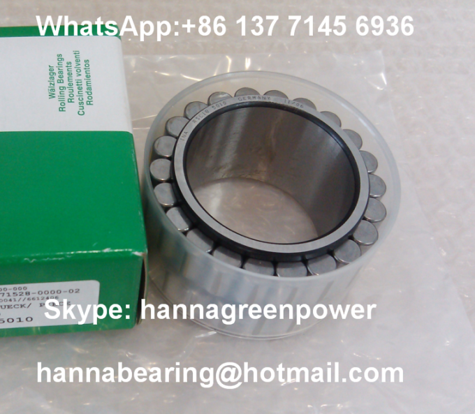 RSL185010 Double Row Cylindrical Roller Bearing Without Outer Ring 50 x 72.33 x 40 mm