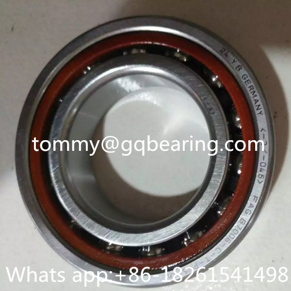 Bakelite Cage Angular Contact Ball Bearing P4S Precision FAG B7006-C-T-P4S-UL