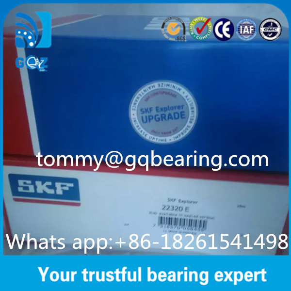 E type Cage Spherical industrial Roller Bearings Heavy Load Reinforced SKF 22320 E