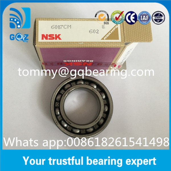 Open type NSKHPS Deep Groove Automotive Bearings with Gcr15 chrome steel NSK 6007CM