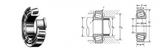 NSK bearing HR32008 XJ tapered roller bearing HR32008XJ