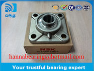 China Stainless Steel SUCF202 Insert Bearing Pillow Block Ball Bearings 4 Bolt company