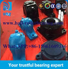 Yellow Blue SD Split Plummer Block Bearing Housing SD648 / 350 Kg