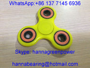 China Low Price Hand Spinner / Tri Fidget Finger Toy with 608-2RS Ceramic Ball Bearings factory