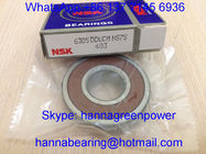 China Original NSK 6305DDUCM /  6305DDUC3 Deep Groove Ball Bearing with Rubber Seal 25x62x17mm company