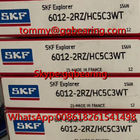 H5 Ceramic Balls SKF 6012-2RZ/HC5C3WT Single Row Deep Groove Ball Bearing 60 x 95 x 18 mm