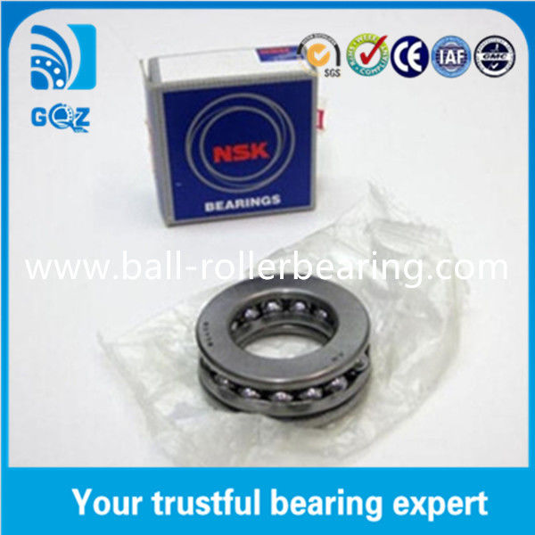 Steel Cage 51101 Thrust Ball Bearing , High Speed Thrust Bearing For Geely