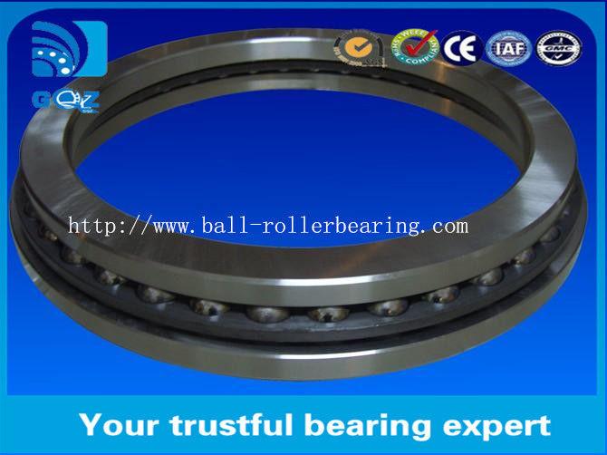 Chrome Steel Single Row Thrust Ball Bearings 51217 Wear