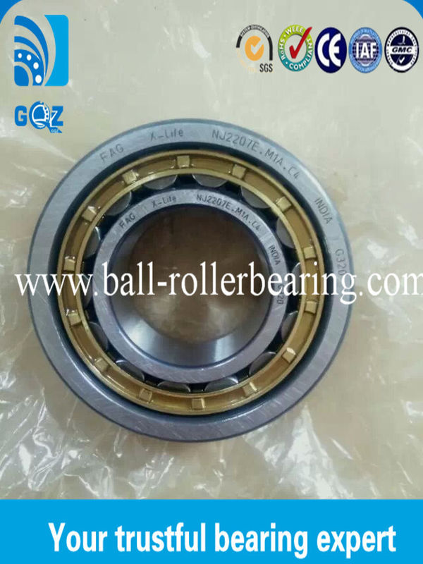 0.524 KG Mass Cylindrical Miniature Roller Bearings Less vibration NU2209ECP