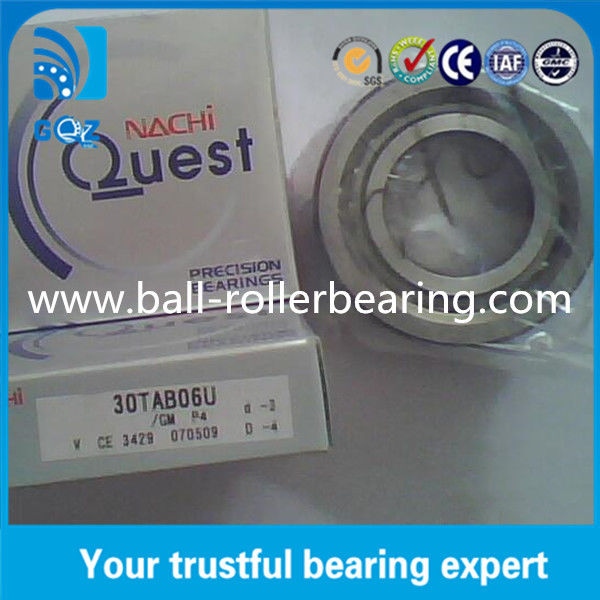P4 Ball Screw Super Precision Bearings 30TAB06U / 30TAB06U/GM P4
