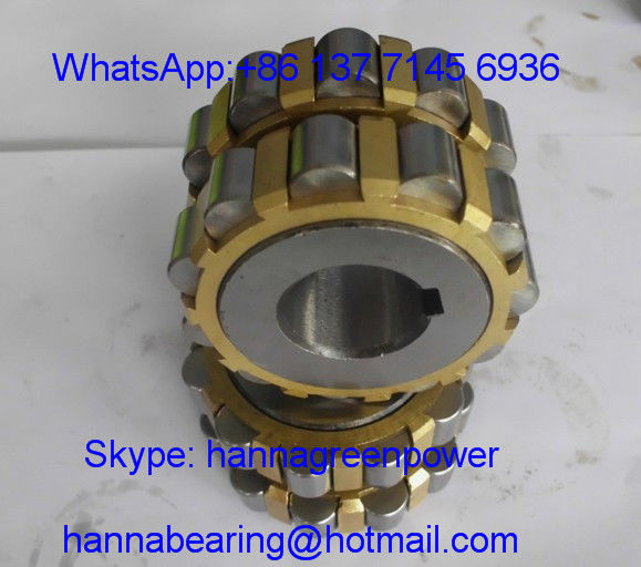 150752307 double row cylindrical roller bearing brass cage bearing 35x86.5x50mm
