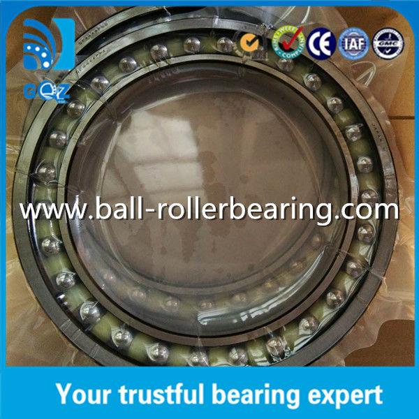 Sealed Angular Contact Bearings , Nylon Cage Angular Contact Thrust