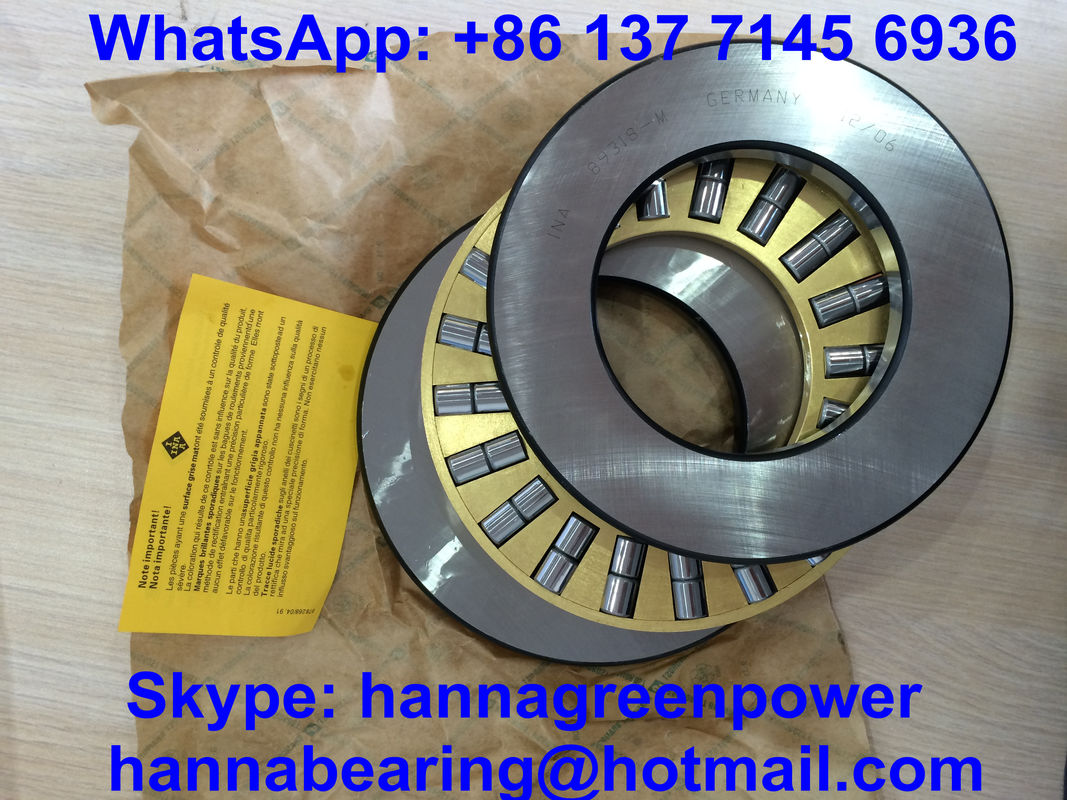 Cylindrical Roller Thrust Bearings , 89330M Double Row Thrust Bearing