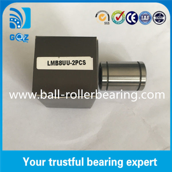 1/2 inch Shaft dia Linear Motion Bearings with Chrome steel Material LMB8UU