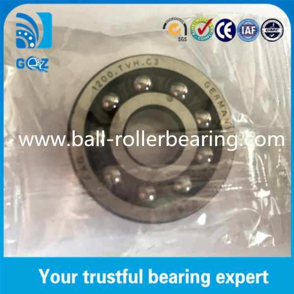C3 Clearance Plastic Cage Self aligning Ball Bearing FAG 1200-TVH