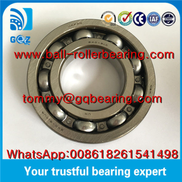 OD 80mm P0 Deep Groove Automotive Bearings Gcr15 Chrome Steel Ball Bearing