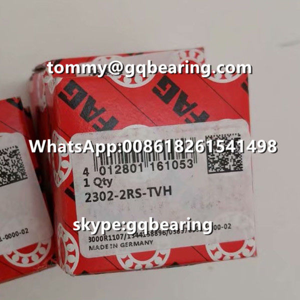 FAG 2302-2RS-TVH Nylon Caged Self-aligning Ball Bearing