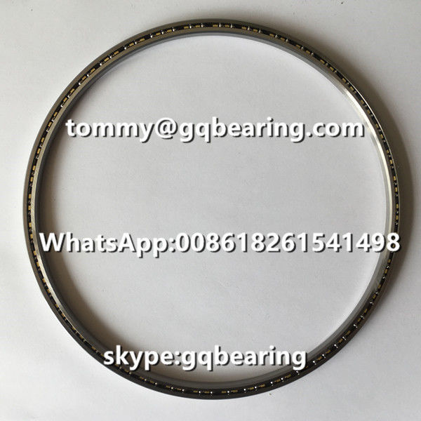 Chrome Steel Material Bronze Cage CSXA065 Four-point Contact Thin Section Bearing