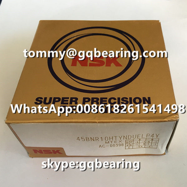CNC Spindle Application NSK 45BNR10HTYNDUELP4Y Super Precision Angular Contact Ball Bearing