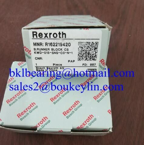 Best quality rexroth linear bearing R162219420 bearing linear guide