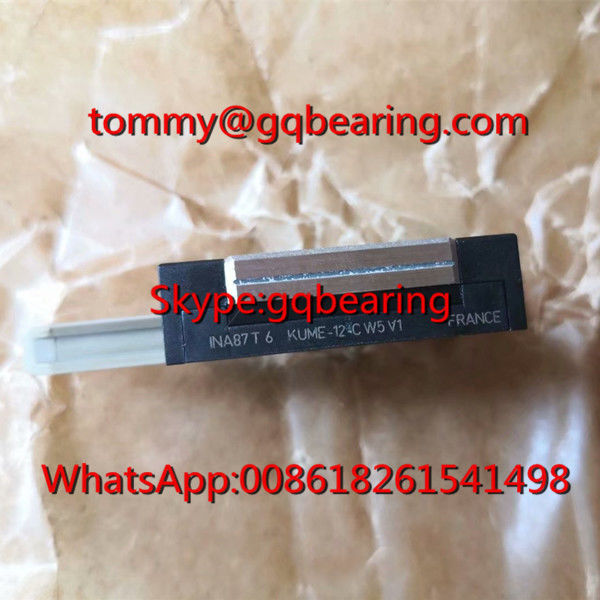 France Origin INA KWME12-C Linear Block Bearing KWME12-C-G2-V1 Miniature Carriage with Anti-corrosion Protection