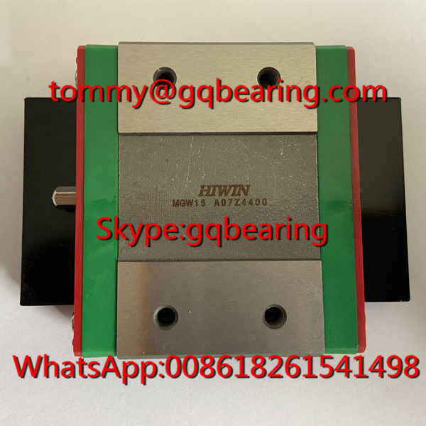 HIWIN MGW15H Long Length Type Miniature Linear Block MGW15HZ0CM Linear Ball Bearing