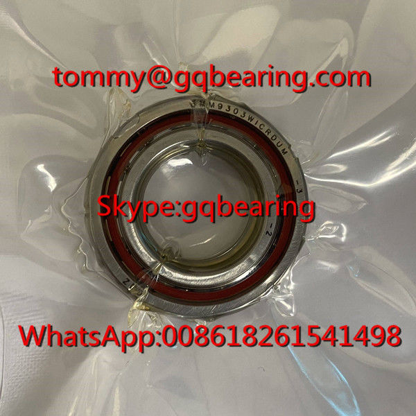 25 degree Contact Angle 3MM9303WICRDUM Spindle Angular Contact Ball Bearing