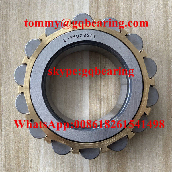 NTN E-95UZS221 Brass Material Cage Eccentric Cylindrical Roller Bearing 95x171x40mm