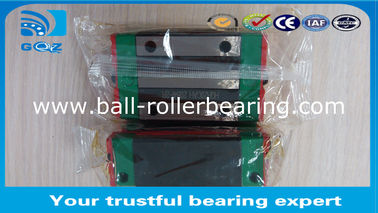 China Square Block HGH25CA Guide Block Linear Ball Bearing , Linear Slide Bearings 23x48x40mm factory