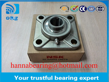Stainless Steel SUCF202 Insert Bearing Pillow Block Ball Bearings 4 Bolt