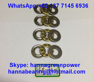China F2.5-6 GCr15 Material Steel Cage Thrust Ball Bearing without Groove 2.5x6x3mm factory