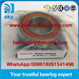 China Japan Origin Rubber Sealed Deep Groove Ball Bearing NACHI 6005-2NSE9 factory