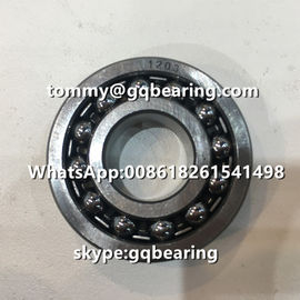 Chrome Steel Material 1203 Steel Cage Double Row Self-aligning Ball Bearing 17x40x12mm