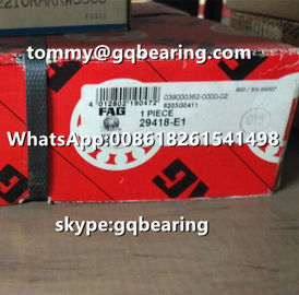 Germany Origin Gcr15 Material FAG 29418-E1 29418-E1-XL Thrust Spherical Roller Bearing