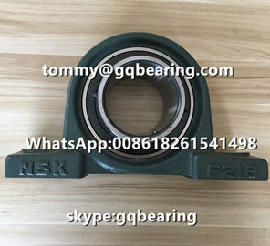 China Japan Origin Cast Iron Material NSK UCP216D1 Two-bolt Pillow Block Ball Bearing factory