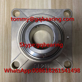 China SSUCF211-32 Full Stainless Steel Four-bolt Flanged Housing Units UCF211-32 Pillow Block Ball Bearing factory