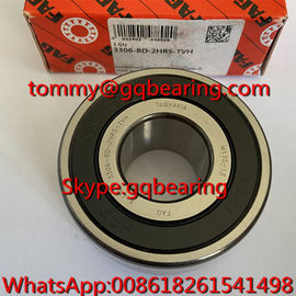 China Slovakia Origin FAG 3306-BD-2HRS-TVH Nylon Cage Double Row Angular Contact Ball Bearing factory