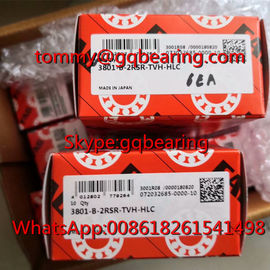 China Japan Origin FAG 3801-B-2RSR-TVH-HLC Nylon Cage Double Row Angular Contact Ball Bearing factory