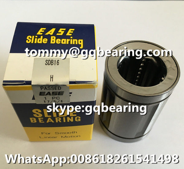Grease Lubrication Steel Retainer EASE SDB16 Inch Type Linear Ball Bearing SDB16 Linear Bushing