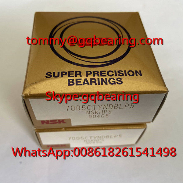 NSK 7005CTYNDBLP5 Back To Back Matching type Angular Contact Ball Bearing